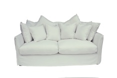 Love Sofa White