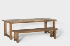 Matera Dining Table and Bench
