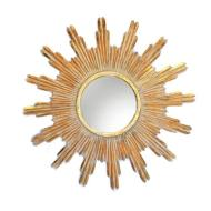 FUN MIRROR ANTIQUE GOLD
