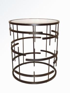 MUNICH SIDE TABLE DARK BRONZE