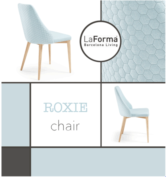 LaForma Roxie Quilted Chair