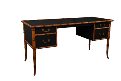 Montego Desk - Black