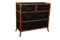 Montego Drawers - Black