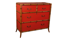 Montego drawers - Tamarillo