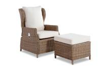 Mykonos Chair + Stool Nat