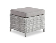 Mykonos Stool White Grey