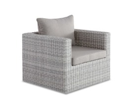 Roman Chair White Grey