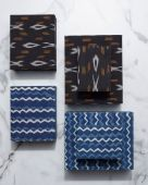 Ikat Boxes available in 6 different patterns.